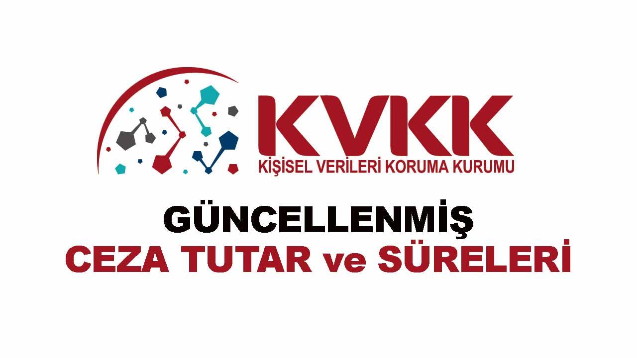 KVK Kanuna Göre Cezai Yaptırımlar