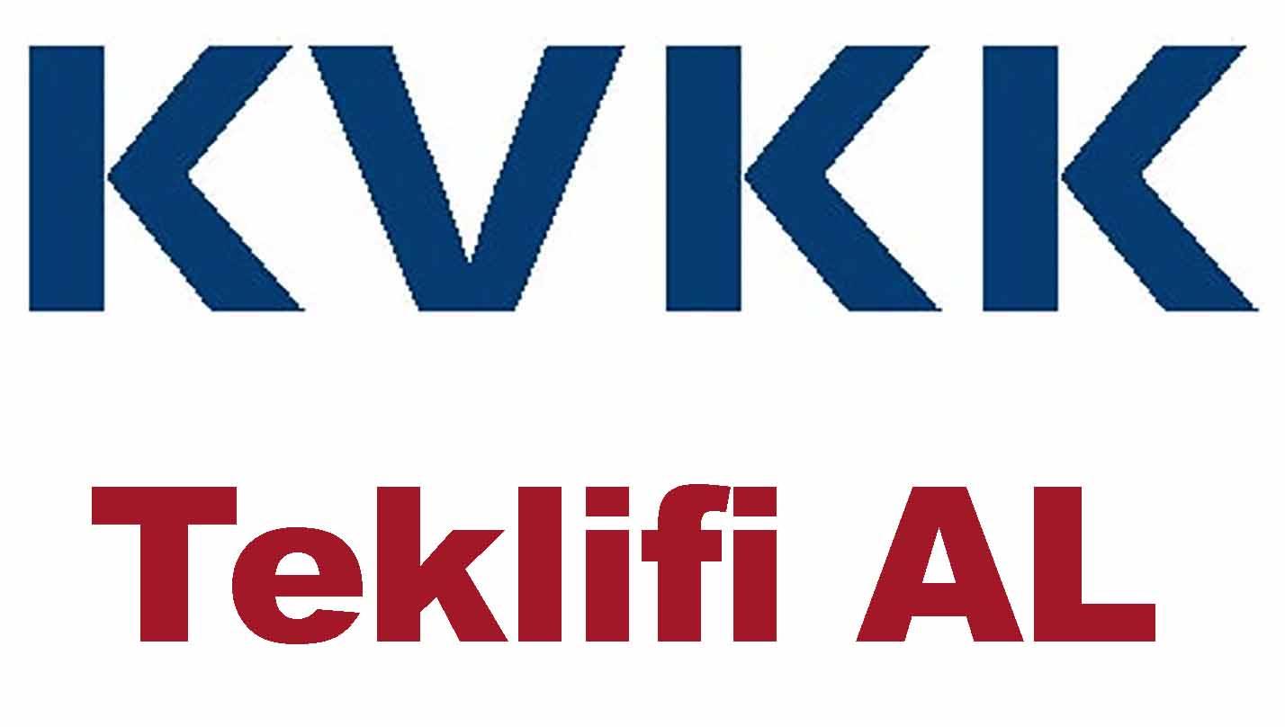 Firmanız için KVKK Teklifi Alınız