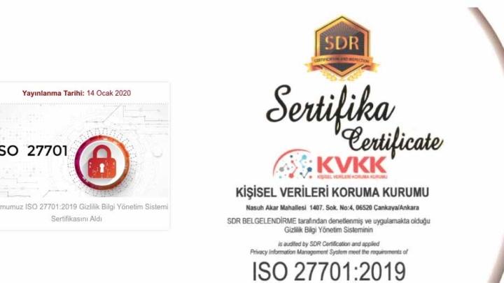KVK Kurumu ISO 27701:2019 Gizlilik Bilgi Yönetim Sistemi Sertifikasını Aldı