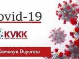 KVKK Covid-19 Hakkında Duyuru