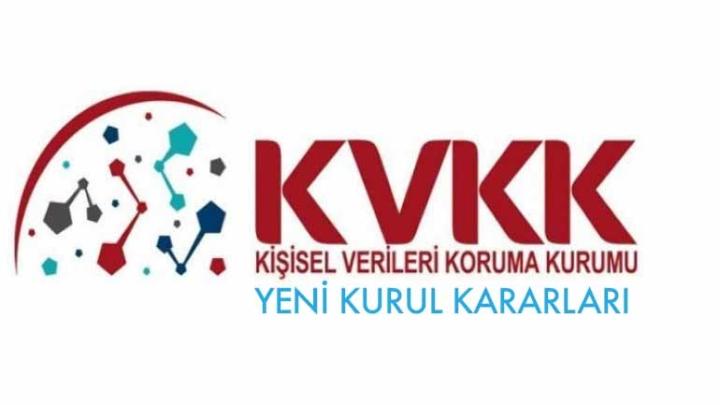 KVKK Yeni Kurul Kararları İle Ceza Kesti