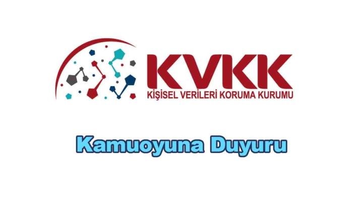 KVKK Uzaktan Eğitim Platformları Duyurusu