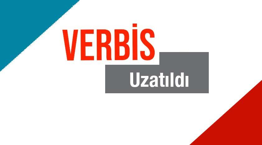 VERBİS'e Kayıt süresi Uzatıldı